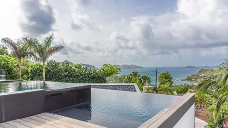 Villa Golden Palm - Pool & View-jpg