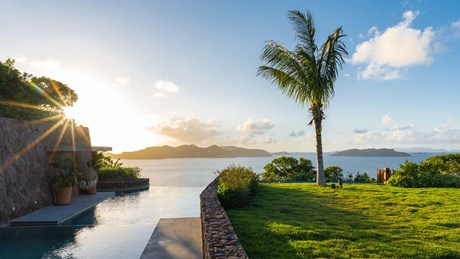 Villa Tainos - Pool Sunset-jpg