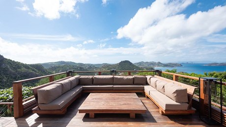 Eden Rock Villa Rental - Villa Jable - Outside Living Area-jpg