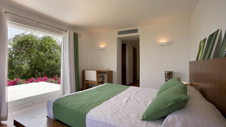 Villa KYR - ERVR -  Green Bedroom-jpg